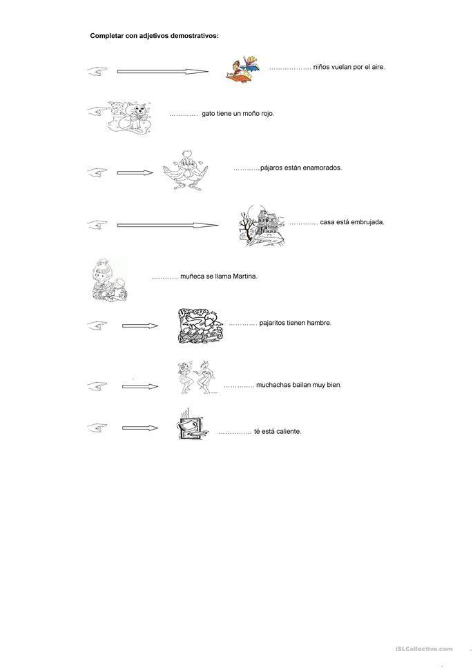 ejercicios de adjetivos para secundaria pdf