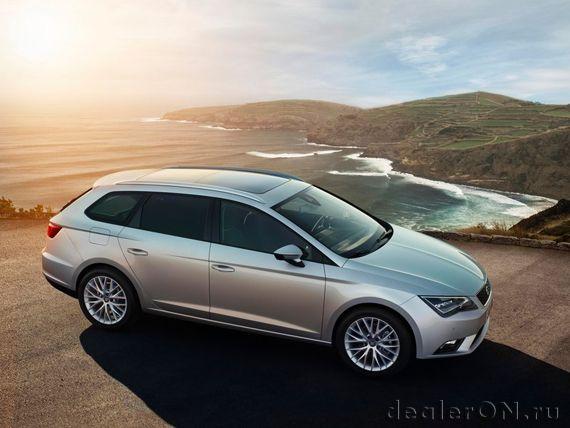 Универсал SEAT Leon ST 2014: первые официальные фото [Фотогалерея] | Новости автомира на dealerON.ru