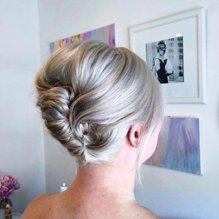 Quick Updos For Long Hair Simple Elegant Updos On