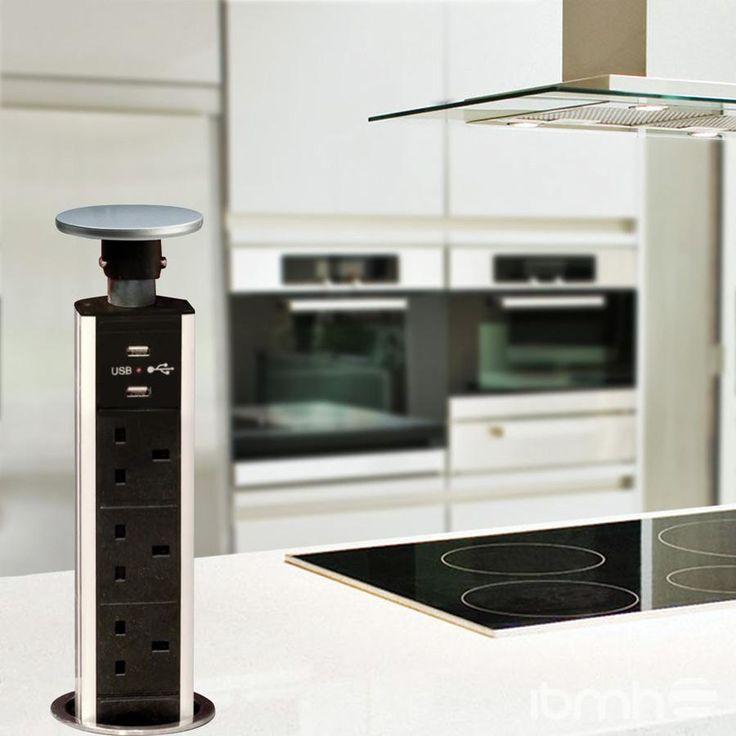 10 best Torre de Enchufes Telescópico Elevable - Sockets - versenkbare steckdose küche