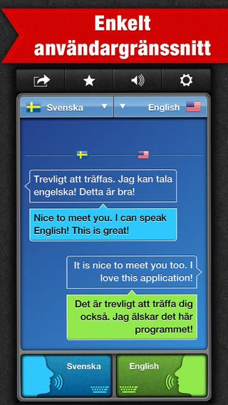 Genast talar ett annat språk, röst till röst, med SayHi Översätt för iPhone och iPad.