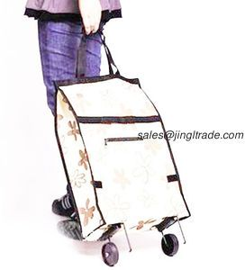 Buy Oxford cloth wheel shopping bag/ shopping cart from China