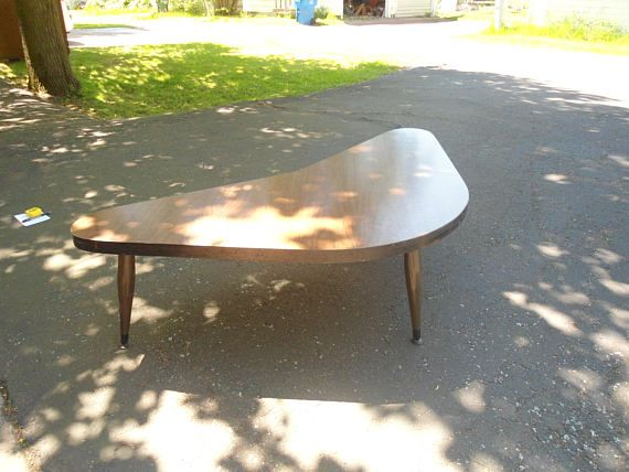 Vintage Furniture Boomerang Table Formica Table Coffee Table