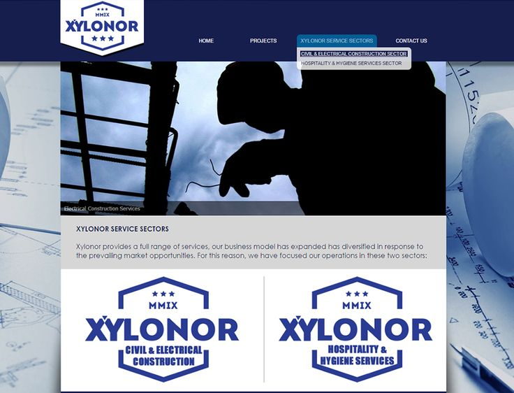 WEBSITE DESIGN >> Xylonor - http://www.xylonor.com/ - Created By Design So Fine