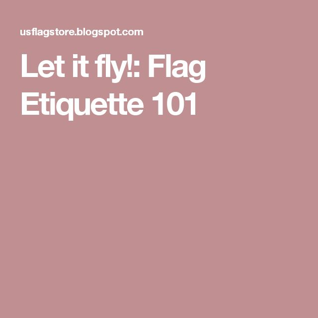 flag etiquette for veterans day