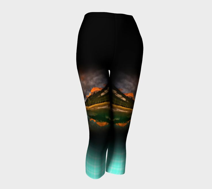 Capris for Running and Yoga: Rocky Mountain Soap Co Women's Run design by AmAdventures on Etsy. Save $15 on this design using code RMS2016TAKE15 until April 30 <3