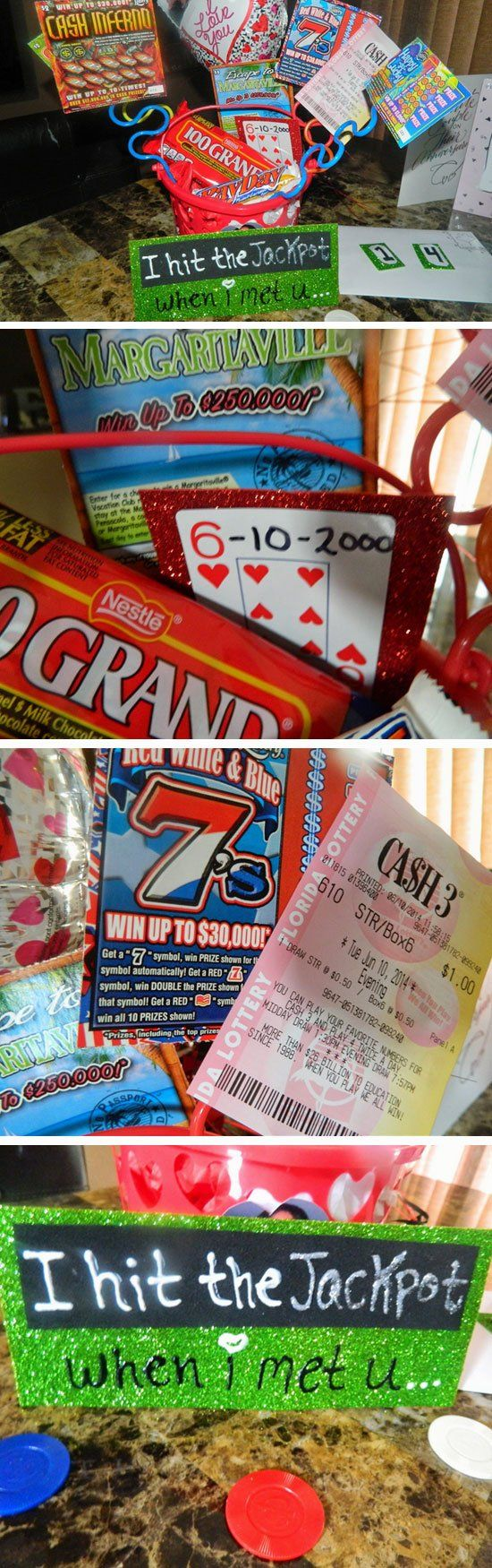 Won The Lottery Hamper | Easy DIY Anniversary Gift Ideas for Him