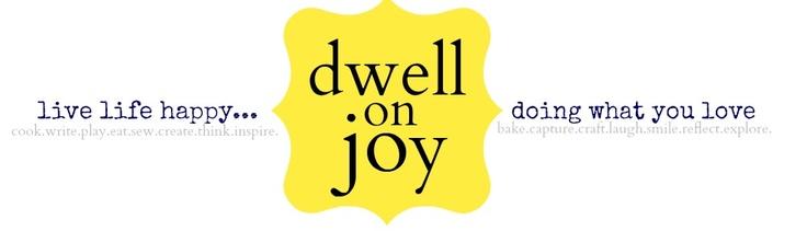 Dwell on Joy: Feeding New Moms