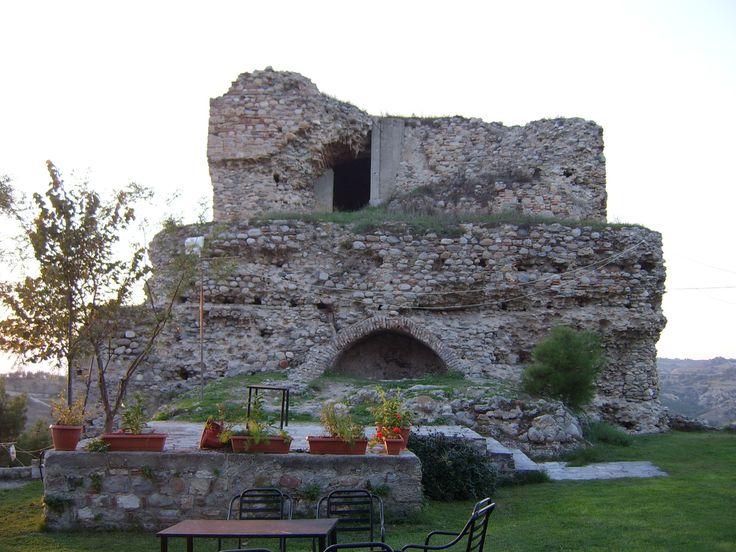 Byzantine castle ruins, acropolis (Koulas) Serres