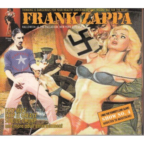 HALLOWEEN NEW YORK 1978 de FRANK ZAPPA, CD x 2 chez avefenixrecords - Ref:114962872