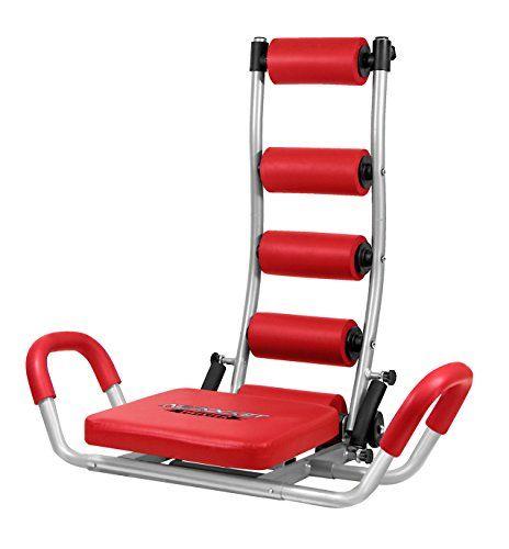 Fitness House AB Rocket Twister - Aparato para abdominales, color rojo, talla única Para ver mas visita este enlace https://cadaviernes.com/ofertas-de-aparatos-de-abdominales/