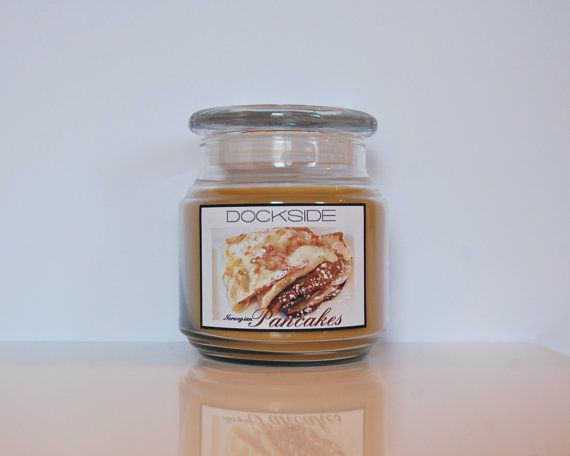 16 oz. / NORWEGIAN PANCAKES / Soy-Blend / Fragrant Candle