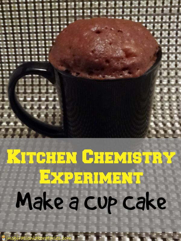 Kitchen Chemistry Experiment Make A Cup Cake Summer Science Series Activities Experiment