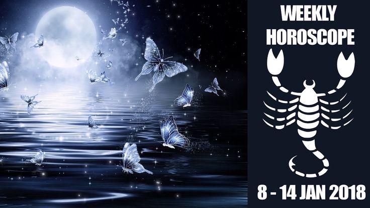 Scorpio Weekly Forecast - 8 to 14 January 2018 #Scorpio #astrology #Horoscope #forecast
