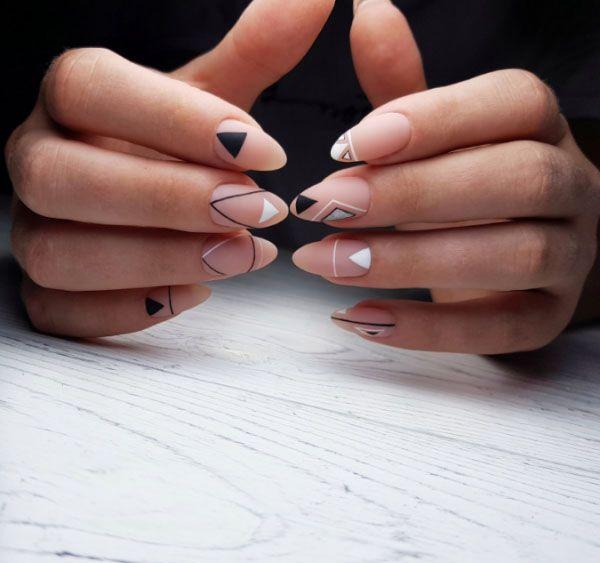 66 Cute Matte Nail Art Designs Ideas