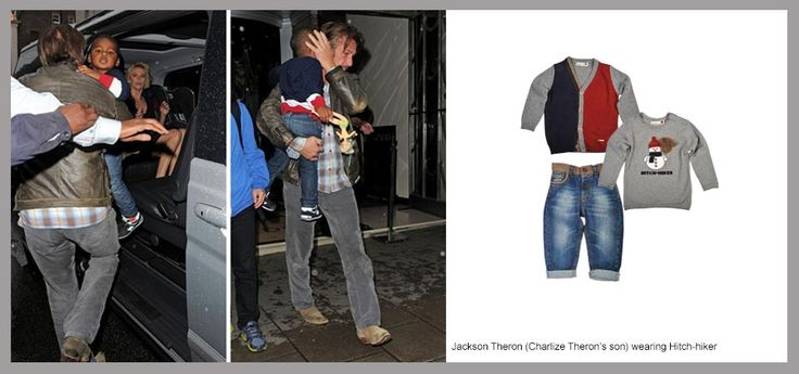 Celebrity Kids Style - Looks & Trends | Mini Outfitters | Jackson Theron wearing Hitch Hiker