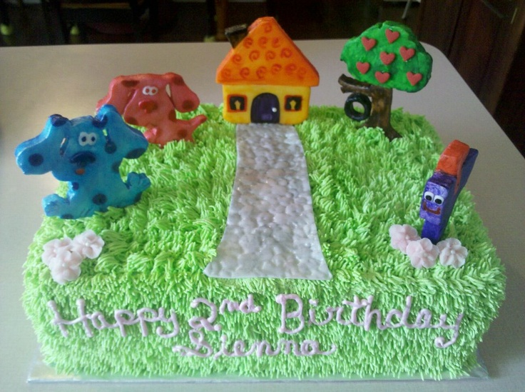 Xenias Cake Designs : 1000+ images about Blues Clues birthday party theme on ...