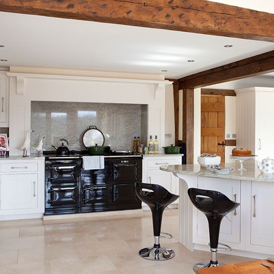 54 Best Aga Surrounds Images On Pinterest Cottage Kitchens Country Kitchens And Home Ideas