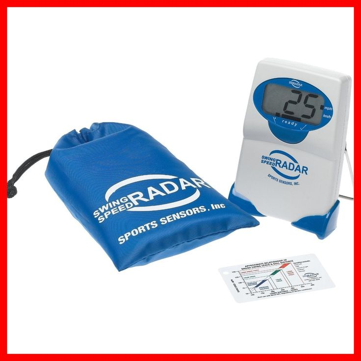 Swing Trainers 83037: Swing Speed Radar Timer Baseball Football Golf Tennis With Carrying Case New -> BUY IT NOW ONLY: $104.95 on eBay!