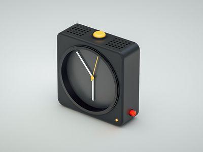 Clock (Dieter Rams Inspired)