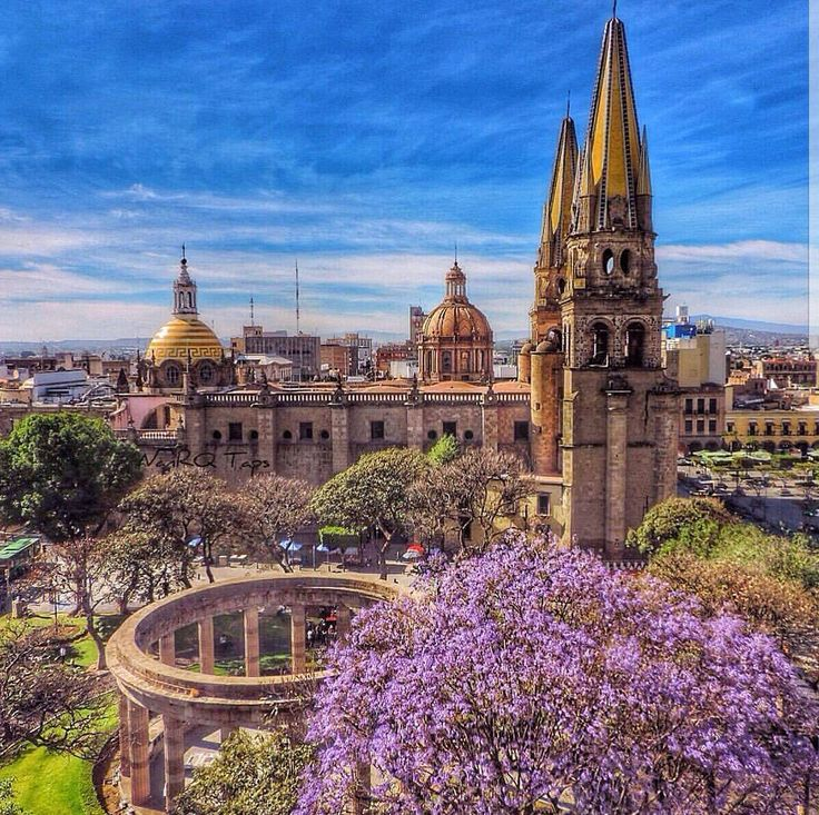 Исторический центр города Гвадалахара, Мексика