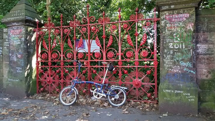 Stawberry Fields Liverpool Brompton