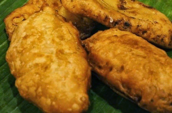 Surinaams eten!: Baka Bana: Surinaamse gebakken banaan met pindasau...