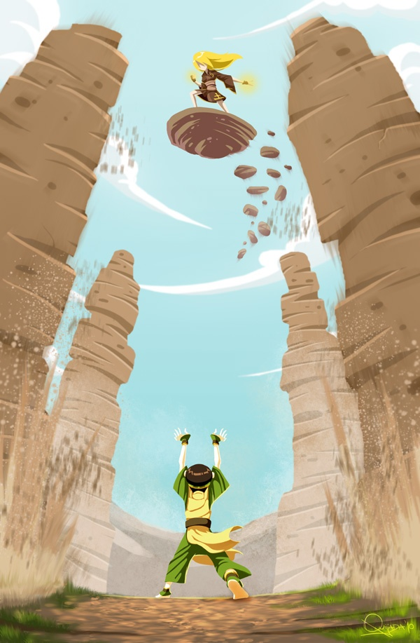 Toph And Terra  Teen Titans  Young Justice  Pinterest -8332