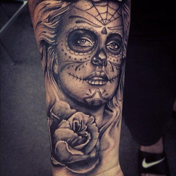 Tattoo Woman Face Design: 17 Best Ideas About Woman Face Tattoo On Pinterest