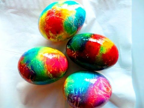 Oua vopsite de Pasti. CEA MAI RAPIDA METODA GARANTAT. How to dye Easter eggs? - YouTube