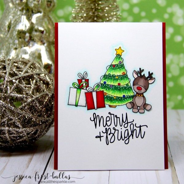 Jessica Frost-Ballas | merry and bright | Simon Says Stamp Special Holiday Release blog hop (+GIVEAWAY!)