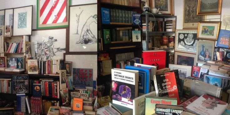 Daniele, il farmacista-libraio di Milano: migliaia di libri usati in un negozio senza elettricità - Il Libraio