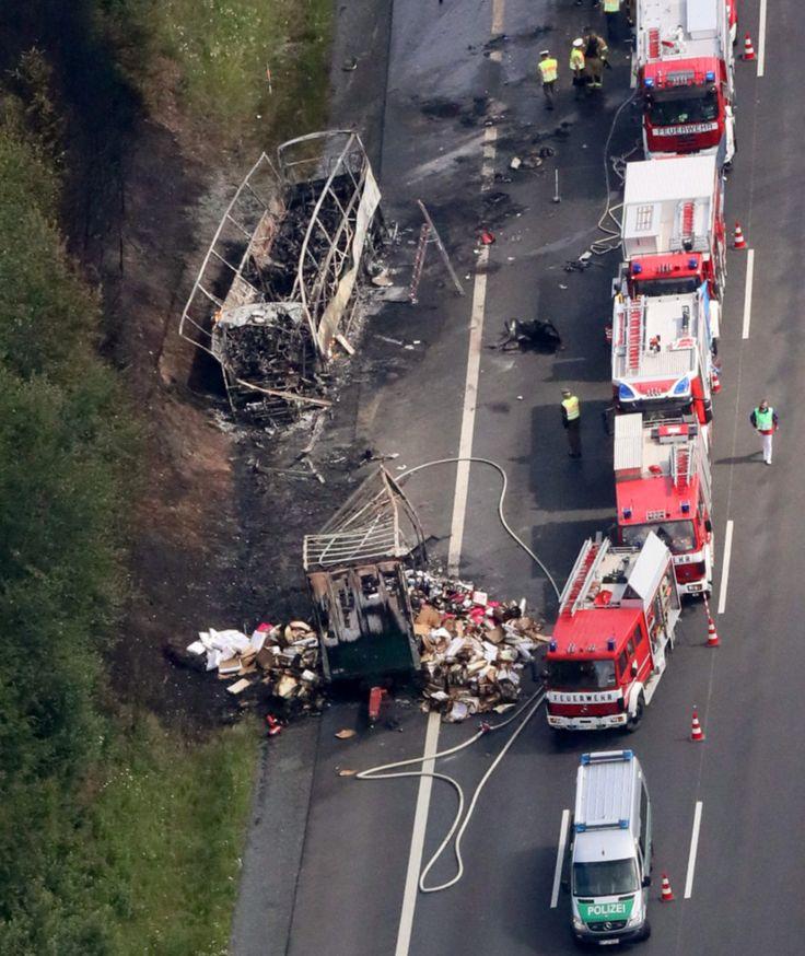 18 Tote bei Busunglück auf A9 bei Münchberg: Senioren wollten zum Gardasee - News - Bild.de