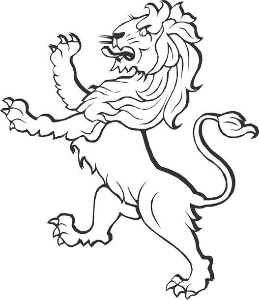 картинки львов для герба торпедного катера
