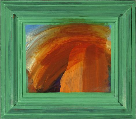 Howard Hodgkin, painting on ArtStack #howard-hodgkin #art
