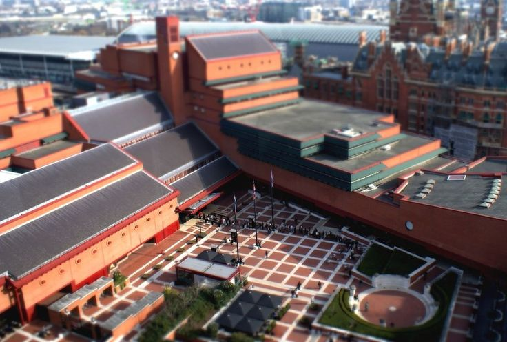 The British Library, London | 19 British Places All Book Lovers Must Visit The British Library at St Pancras is the home-base for the national library, and provides over 150 million titles in most known languages for research and exhibition
