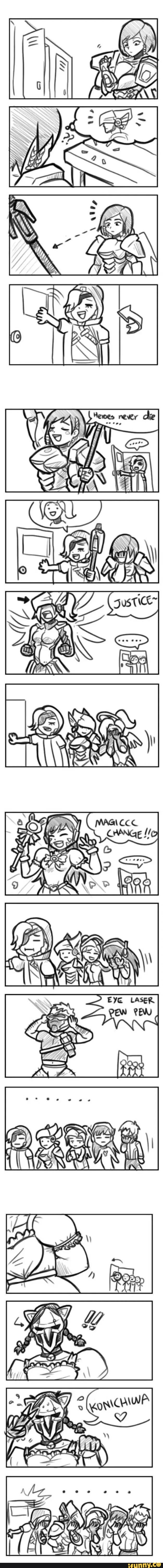 overwatch, comic, comics