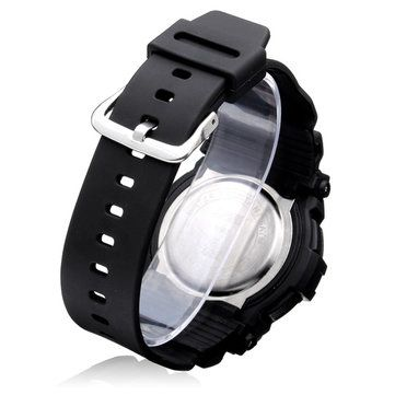 SKMEI 0907 Sport Back Light Week Date Men Women Quartz Wrist Watch - US$9.99 sold out
