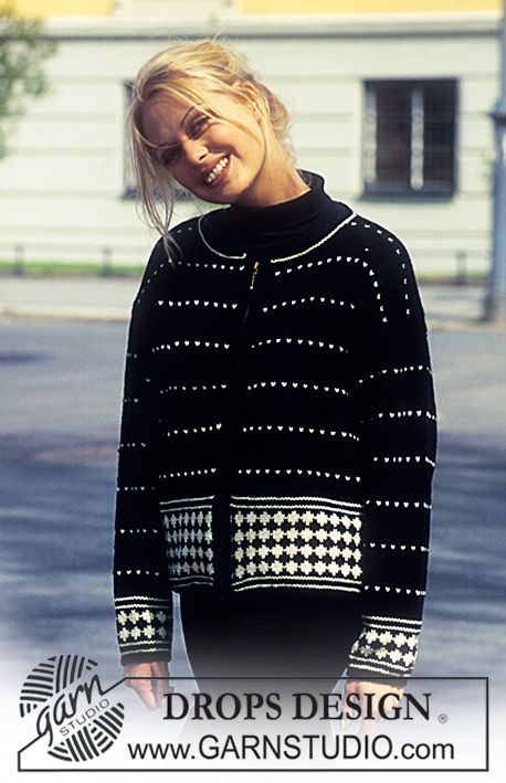 42 best Strikkemønster Drops Design images on Pinterest | Crochet ...