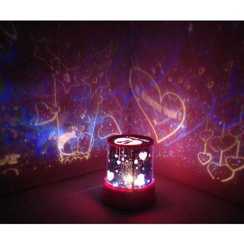 Kalp Projeksiyonlu Gece Lambası - 21.10 TL + KDV