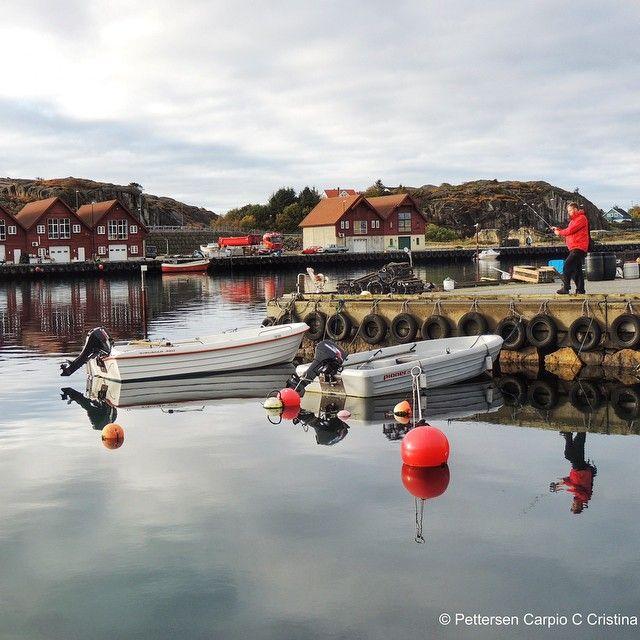 Idyllic Sirevåg havn in Hå kommune / municipality in #regionstavanger #norway
