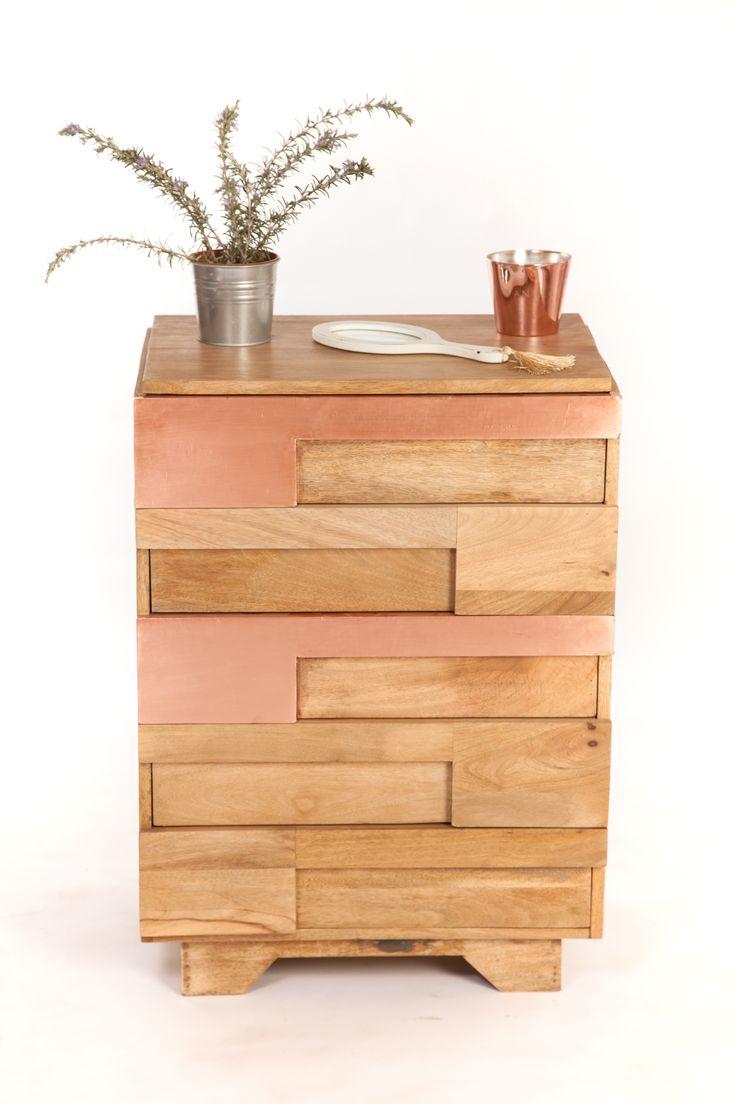 les 11 meilleures images du tableau meubles cuivre sur pinterest cuivre meuble et commodes. Black Bedroom Furniture Sets. Home Design Ideas