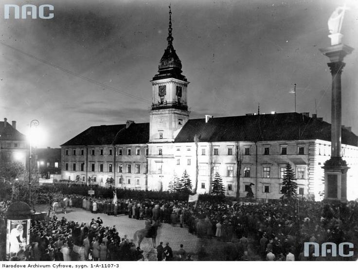 Zamek Królewski/ Royal Castle, 1935.