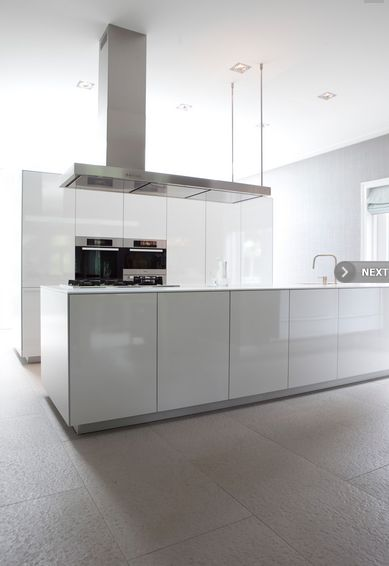 Strakke Witte Keuken : Strakke witte keuken H u i s j e – t u i n t j e – b o o m p j e