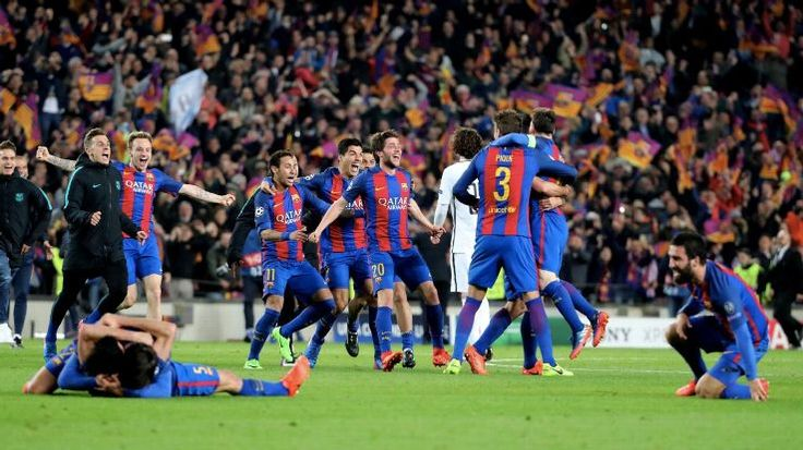 Well and truly remarkable... Barcelona fight back from a 3-0 deficit to beat PSG 6-5 on aggregate to reach the semi-finals of the Champions League! (9.03.17)