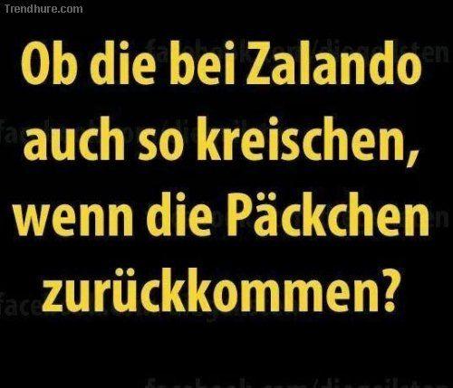 Zalando - gute Frage!