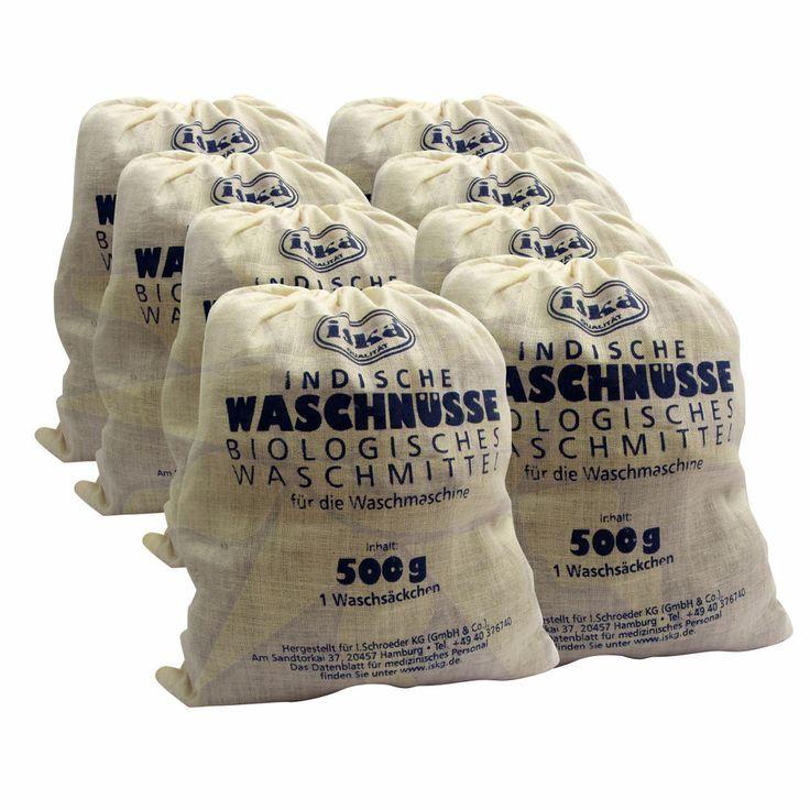 Indische Waschnüsse / Waschnussschalen statt Waschmittel, Baukasten - 4.000 g