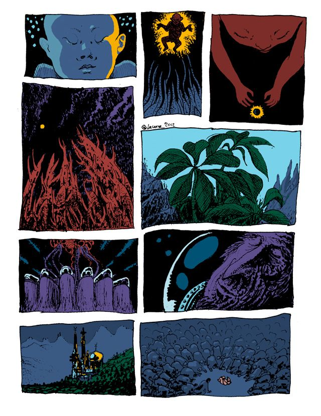 Lost Worlds by Charles Lacorne - 2012 #comics #sf - agence Konbi