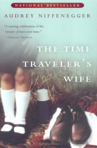 The Time Traveler's Wife by Audrey Niffenegger, http://www.amazon.com/dp/015602943X/ref=cm_sw_r_pi_dp_Hrhiqb1DZKVSW