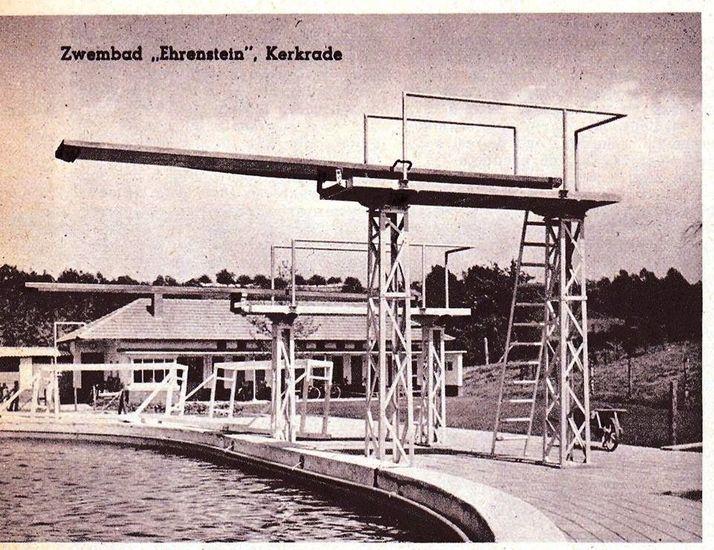 Kerkrade<br />Kerkrade zwembad Ehrenstein 1952